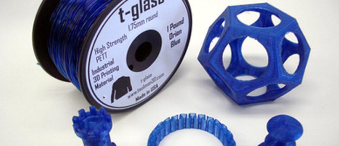 Taulman-T-Glase - Blue - 1.75mm  *** 1lb spool ***